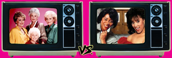 '80s Sitcom March Madness - The Golden Girls vs. 227