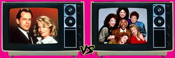 '80s Sitcom March Madness - Moonlighting vs. Designing Women