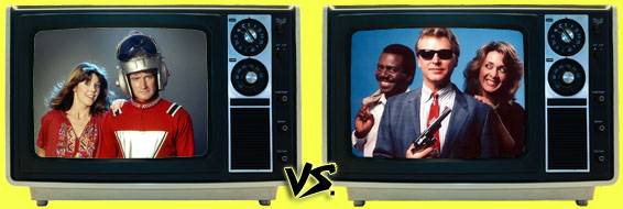 '80s Sitcom March Madness - (2) Mork & Mindy vs. (7) Sledge Hammer!