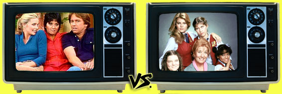 '80s Sitcom March Madness - (3) Three's Company vs. (4) The Facts of Life