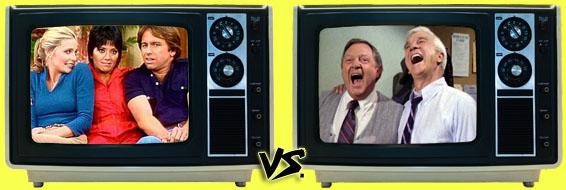 '80s Sitcom March Madness - (3) Three's Company vs. (4) Police Squad!