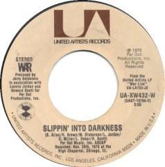 War - Slippin' Into Darkness