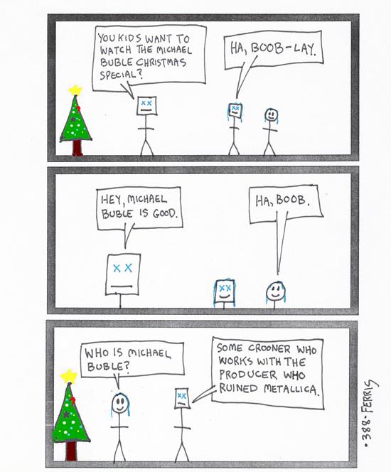 christmas d x ferris dxmas dxmas 2014 suburban metal dad bob rh popdose com