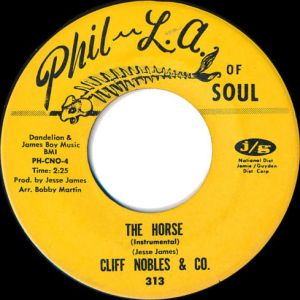 "Cliff Nobles & Co - ""The Horse"""