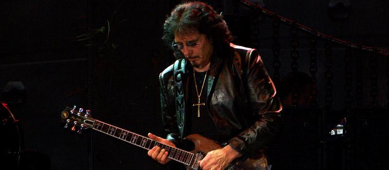 Tony Iommi of Black Sabbath