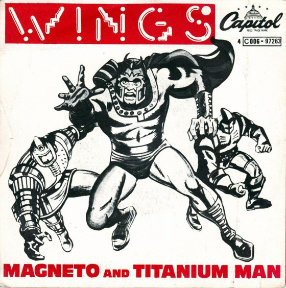 """Magneto and Titanium Man"" (Wings)"