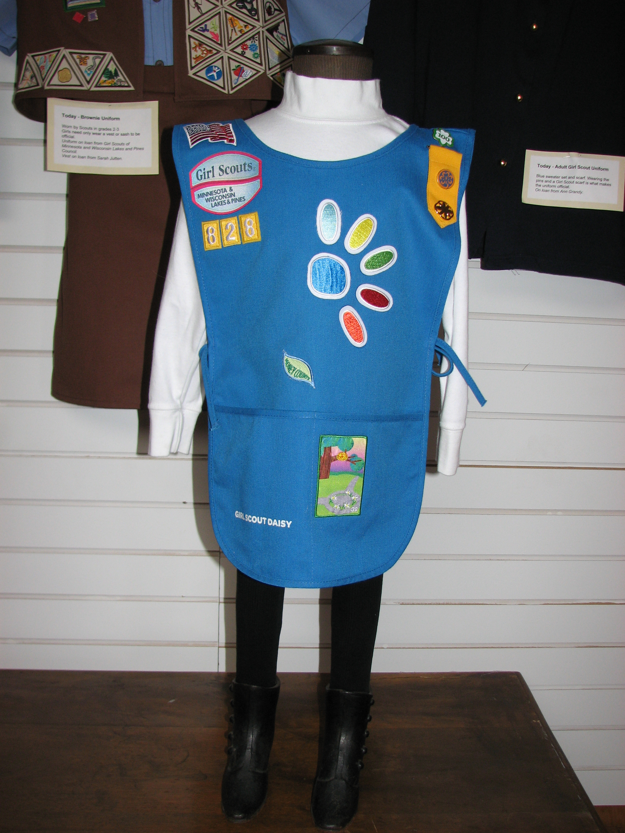 daisy tunic diagram states of matter change 2018  girl scout images brownie insignia