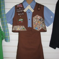 Daisy Tunic Diagram Pioneer Avh 4201nex Jeep Wrangler Girl Scouts Brownie Uniform Patch Placementdownload Free