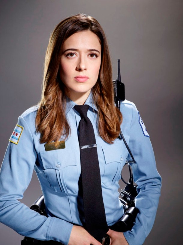 Marina Squerciati Walking The Beat On Chicago Pd
