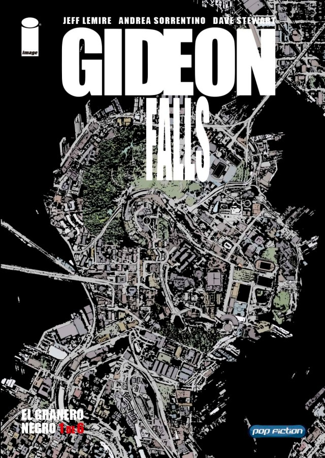 GIDEON FALLS portada pop fiction
