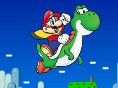 Super Nintendo - Super Mario World