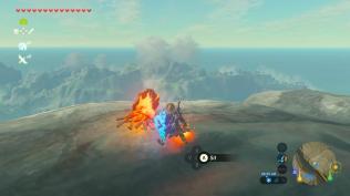 BOTW Star Fragment Farming - Set that fire