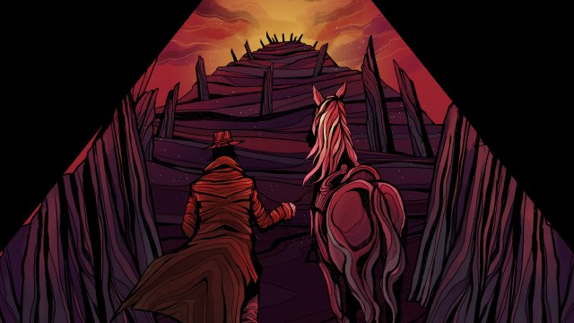 Saddle up, Victorian Buckaroo - Alder's Blood
