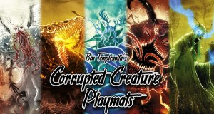 Corrupted Creature Playmats
