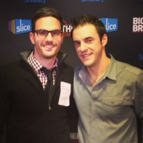 Our chief blogger and 'Big Brother' super fan Rick Cerenzia, snaps a pic with 'Big Brother 10' winner and 'Big Brother 14' final two contestant Dan Gheesling.