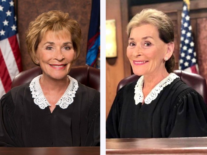 well hold me in contempt, judge judy's new hairstyle is