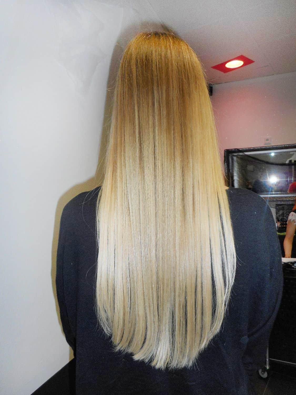 Natrliches Ombr in Blond  POPHAIR