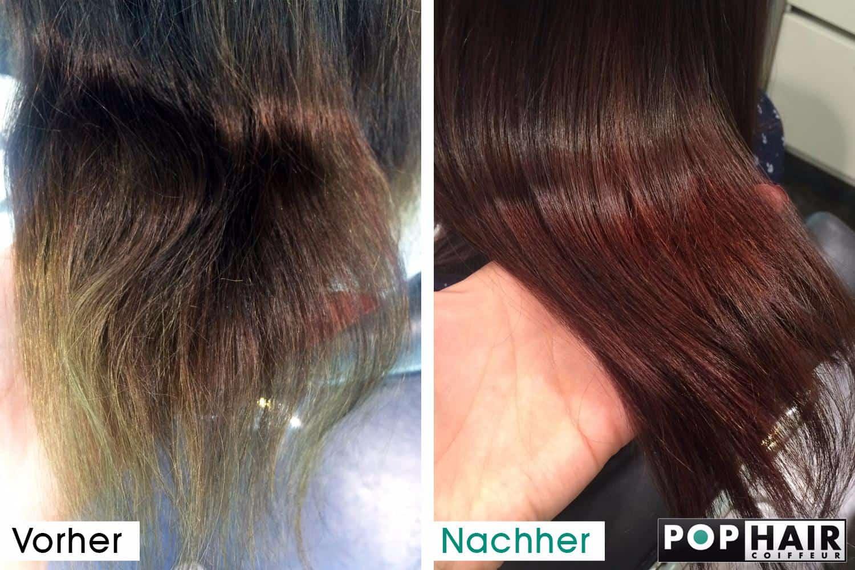 Gesundes Haar durch Haarefrben  POPHAIR