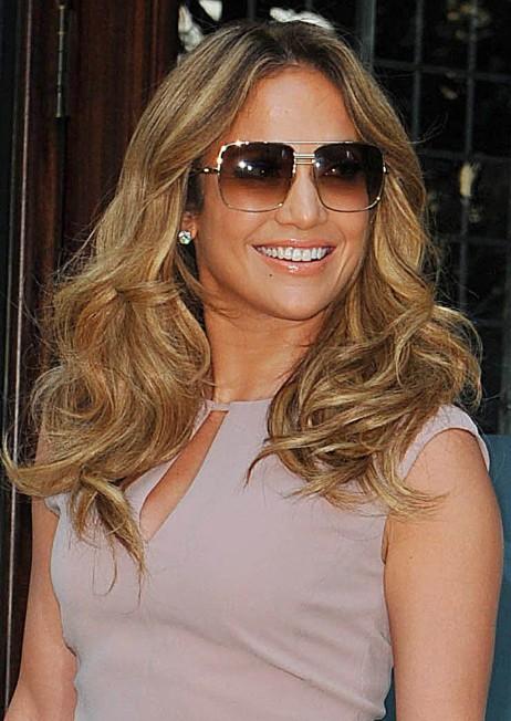 Jennifer Lopez Tousled Curls Styles PoPular Haircuts