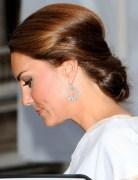 Kate Middleton Chignon Hairstyles 2013