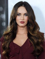 ombre long hairstyles wavy