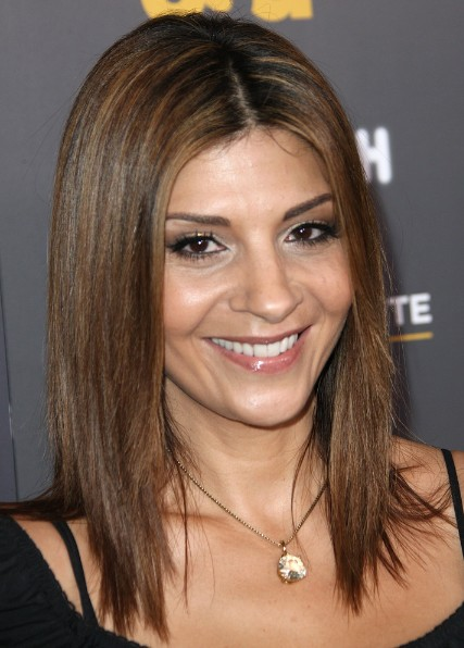 Brown Shoulder Length Hairstyles For Straight Hair Callie Thorne