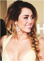 messy braided hairstyles long