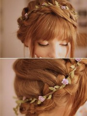 easy braided hairstyles updos