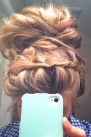 headband braid bun combo - popular