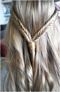 Two Fishtail Braids for Straight Hair - PoPular Haircuts