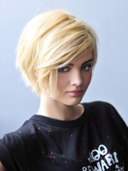 short shaggy hairstyles thick