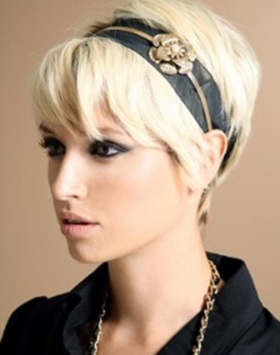 Pixie Haircut With Cute Accessories PoPular Haircuts