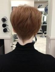 trendy short hairstyles thin