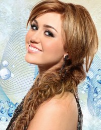 Messy Braid Hairstyles for Long Hair: Miley Cyrus Hair ...
