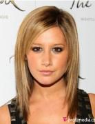 2014 Easy, Medium Straight Haircut, Ashley Tisdale Hair