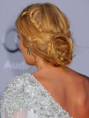 braided updo hairstyles blake