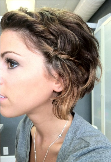 Messy Hairstyles With Braid PoPular Haircuts