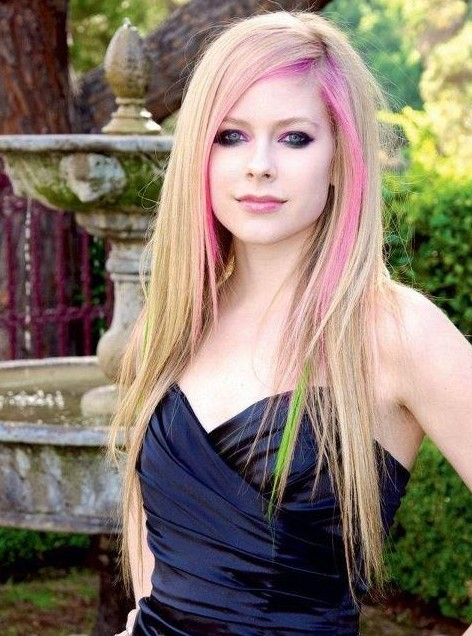 Ombre Hairstyles For Long Hair Avril Lavigne Hair PoPular Haircuts