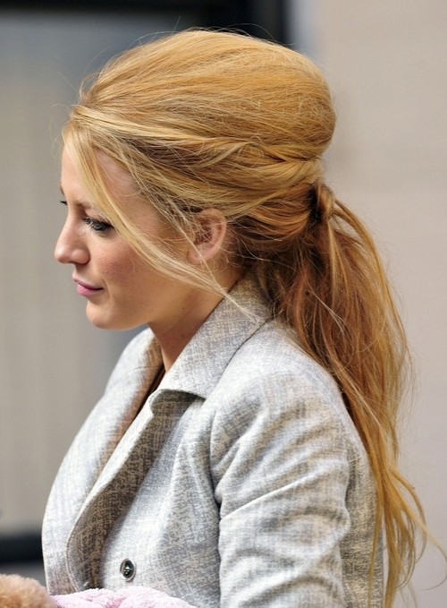 Trendy Long Hairstyle Blake Lively Hair PoPular Haircuts