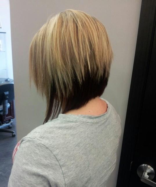 Two Tone Bob Haircuts PoPular Haircuts