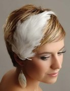 2014 Wedding Hairstyles for Short Hair