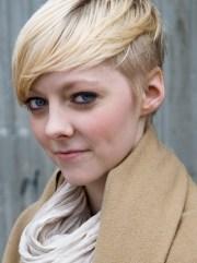 cute blonde hairstyles short