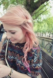cute ombre hairstyles girls