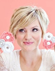 easy layered hairstyles short