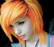 stylish short emo hairstyles