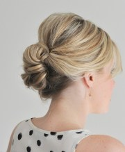 simple and easy hair updos 2014