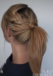 cute ponytail hairstyles long