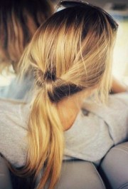 cute ponytail hairstyles