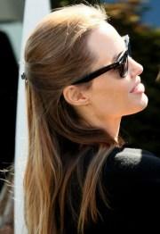 angelina jolie long hairstyles