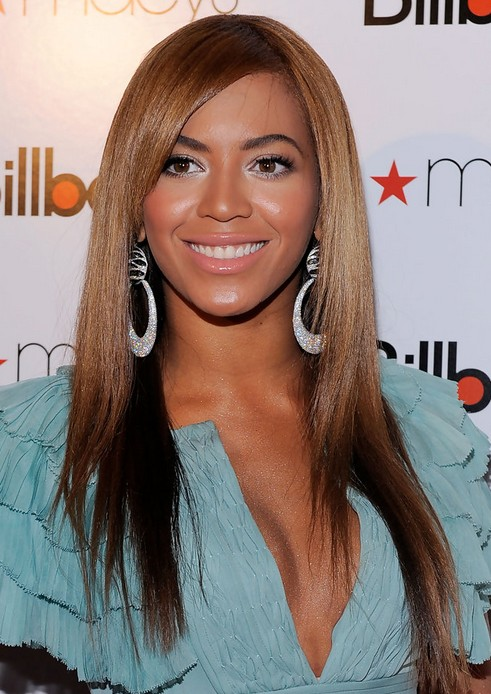 Beyonce Knowles Hairstyles Sleek Hairstyle PoPular Haircuts